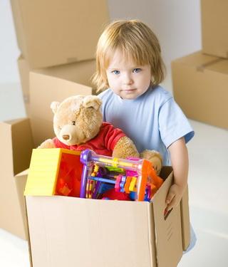 Чистый дом с ребенком, делаем вместе!