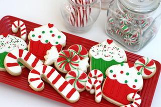 Новогоднее печенье в подарок своими руками