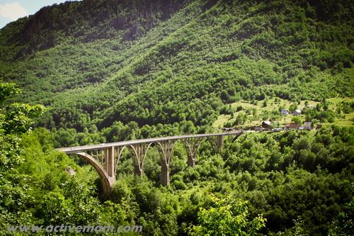черногория,дурмитор,мост через тару