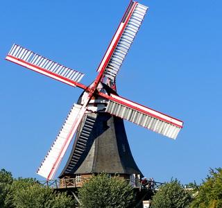 бремен ветряная мельница