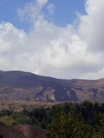 Этна лавовые реки