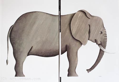 слон жиневоты